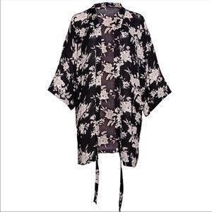 Spiritual Gangster Maya Kimono Robe coverup